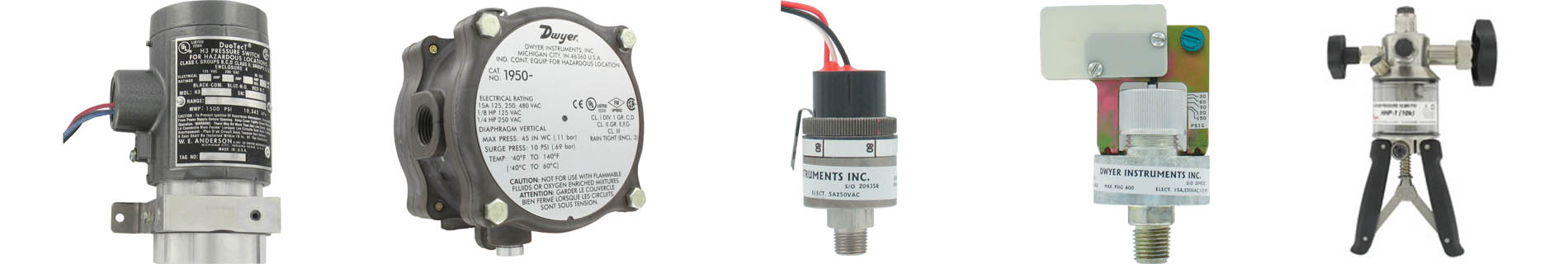 Pressure Switch Manufacturers banner