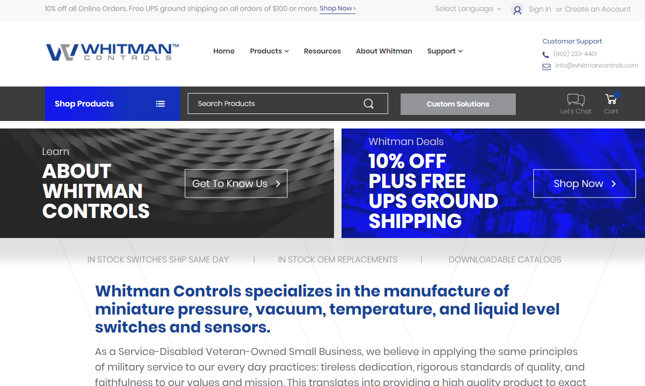 Whitman Controls LLC